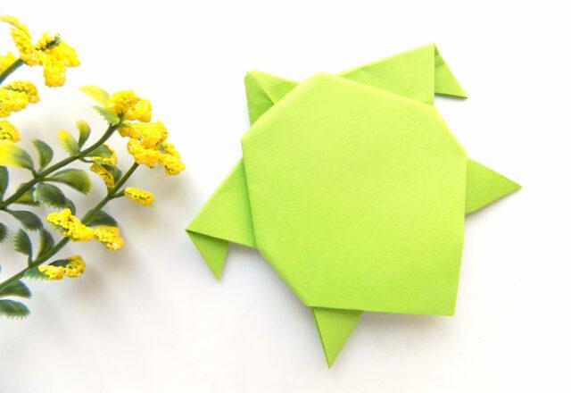 """Оригами """"Черепашка"""" из бумаги своими руками"""